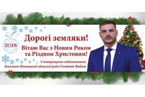 Депутат Вадим Соляник