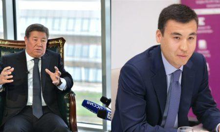 галимжан Есенов и Ахметжан Есимов